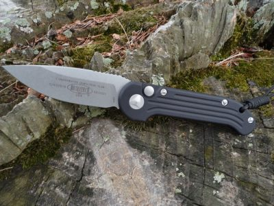 Microtech 135-10 Black Handle LUDT