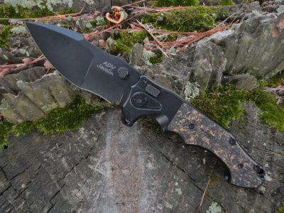 ADV Tactical Javelin-Copper Shred/Black Blade
