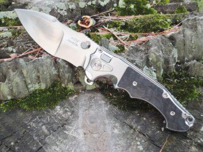 ADV Tactical Javelin-Marble CF/Satin Blade