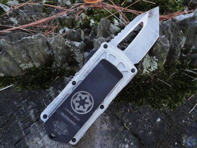 Microtech 158-1SA Exocet-Sand Trooper