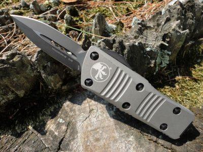 Microtech 238-1TG Mini Troodon-Titanium Gray
