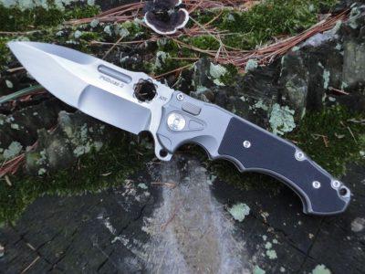 ADV Tactical Mini PitBoss(2)-Black G-10/Satin Blade